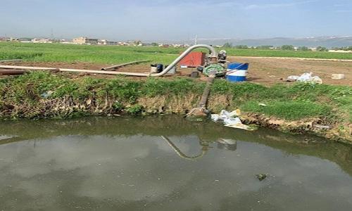 مصلحة الليطاني: استئناف ري المحاصيل الزراعية بمياه الصرف الصحي