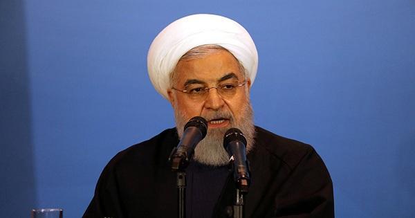 """روحاني: العقوبات الأميركية ستفشل والبيت الأبيض """"متخلف عقليا"""""""