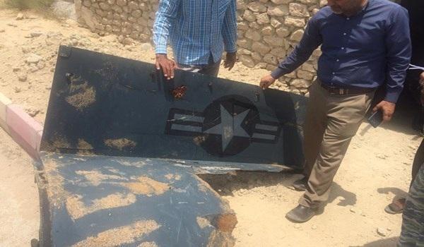 الحرس الثوري: العثور على أجزاء أخرى من حطام الطائرة الاميركية المسيرة