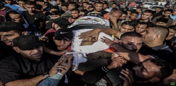 بالصور: تشييع أبو العطا في غزة