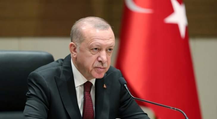 أردوغان: اقتصادنا ينتعش بقوة وسنمد العراق بمساعدات لمكافحة كورونا