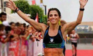 شيرين نجيم أولى سباق جمعية بيروت ماراتون الإفتراضي