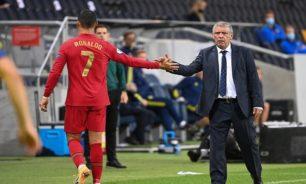 سانتوس يكشف موقف رونالدو من اللعب مع البرتغال الليلة