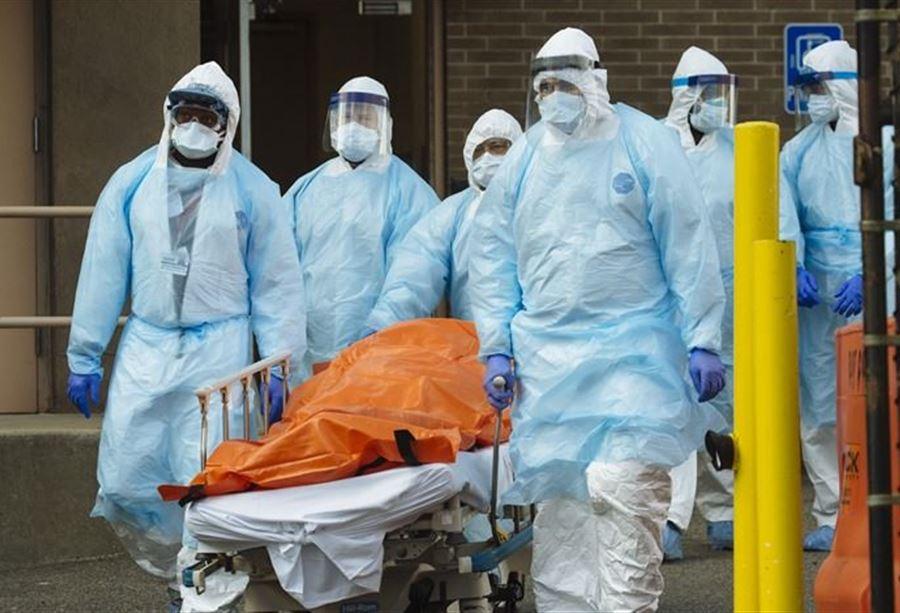 حوالى 4500 وفاة بكورونا خلال 24 ساعة في الولايات المتحدة
