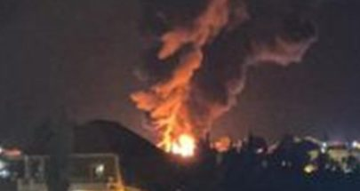 انفجار خزان للمحروقات في منطقة القصر الحدودية