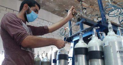 هبة اجهزة اوكسيجين من مغتربين لبنانيين في اميركا الى بلدية برج البراجنة