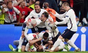 """إنكلترا تتخطّى الدنمارك وتضرب موعداً مع إيطاليا في نهائي """"يورو 2020"""""""