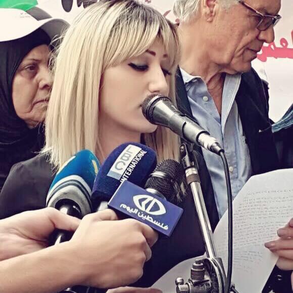 من لبنان الى فلسطين ، تحية للاسرى الذين اثبتوا بأن العدو اوهن من بيت العنكبوت: ميسم حمزة