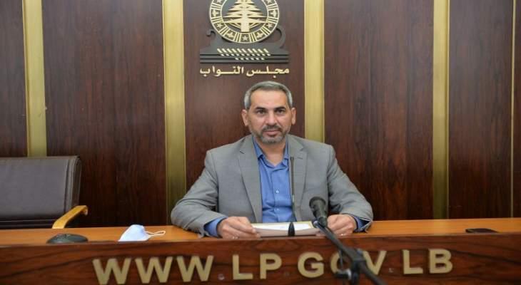 حمادة: على الحكومة أن تستفيد من معادلة القوة التي يمتلكها لبنان وهناك تبلور جديد لإقتصاد محور المقاومة