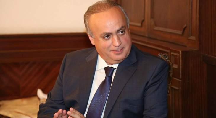 وهاب: نتمنى صرف أموال صندوق النقد على النقل المشترك بالسرعة اللازمة