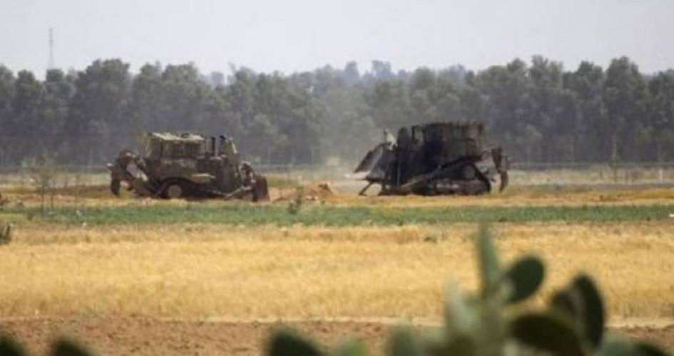 توغل محدود للعدو الاسرائيلي شرق دير البلح وسط قطاع غزة